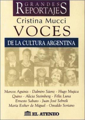 VOCES DE LA CULTURA ARGENTINA