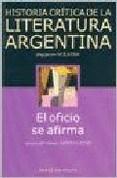 HISTORIA CRITICA DE LA LITERATURA ARGENTINA 10 IR
