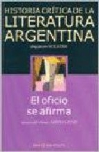 HISTORIA CRITICA DE LA LITERATURA ARGENTINA T.9 O