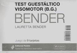 TEST GUESTALTICO VISOMOTOR-JUEGO TARJETA BENDER N
