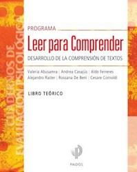PROGRAMA LEER PARA COMPRENDER LIBRO TEORICO