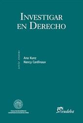 E-book Investigar en Derecho