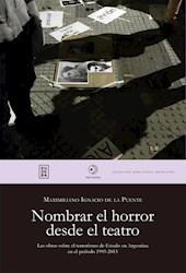 E-book Nombrar el horror desde el teatro