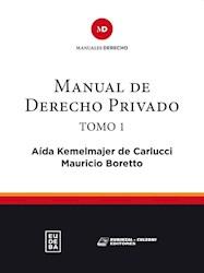 E-book Manual de derecho privado. Tomo I