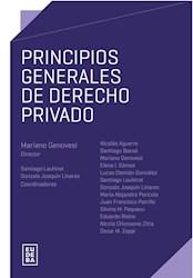 E-book Principios generales de derecho privado