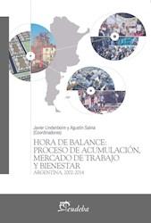 E-book Hora de balance: proceso de acumulación, mercado de trabajo y bienestar