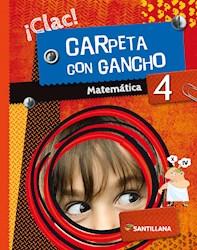 MATEMATICA 4 ICLAC! CARPETA CON GANCHO NOV 2019