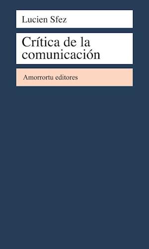CRITICA DE LA COMUNICACION