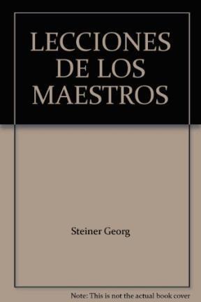 LECCIONES DE LOS MAESTROS