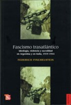 FASCISMO TRASATLANTICO