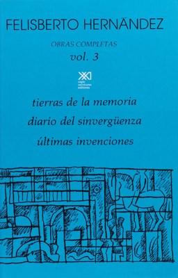 OBRAS COMPLETAS V-3 FELISBERTO HERNANDEZ