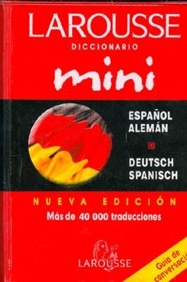 DICCIONARIO MINI ESPAÑOL ALEMAN DEUTSCH SPANISCH