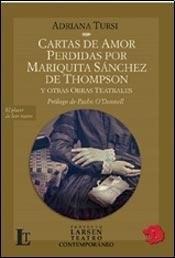 CARTAS DE AMOR PERDIDAS POR MARIQUITA SANCHEZ DE