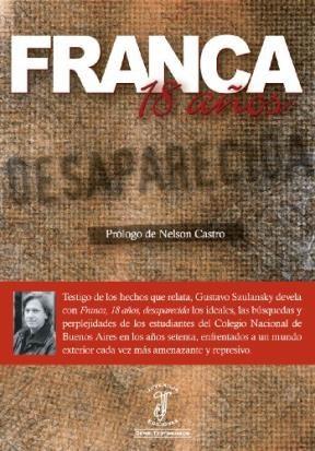 FRANCA 18 AÑOS DESAPARECIDA