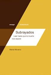 SUBRAYADOS.LEER HASTA QUE LA MUERTE NOS SEPARE
