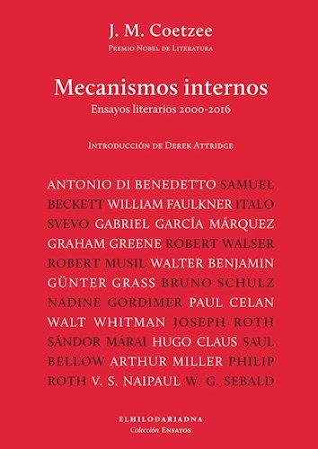MECANISMOS INTERNOS ENSAYOS LITERARIOS