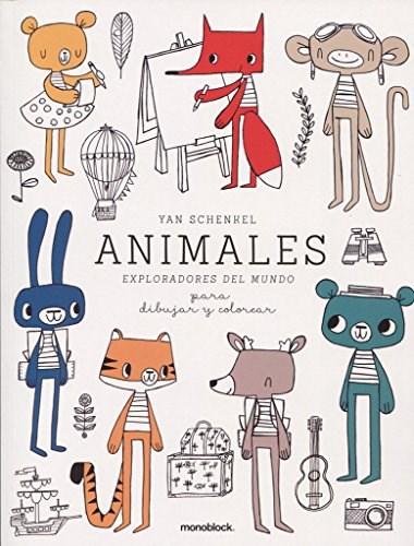 ANIMALES EXPLORADORES DEL MUNDO YANINA SCHENKEL