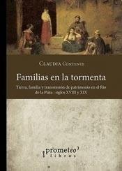 FAMILIAS EN LA TORMENTA. TIERRA, FAMILIA Y TRANSM