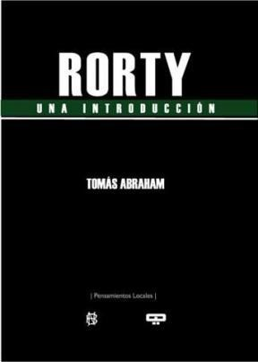 RORTY -UNA INTRODUCCION