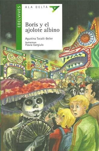 BORIS Y EL AJOLOTE ALBINO