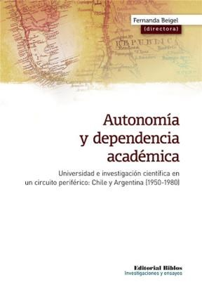 Autonomía y dependencia académica