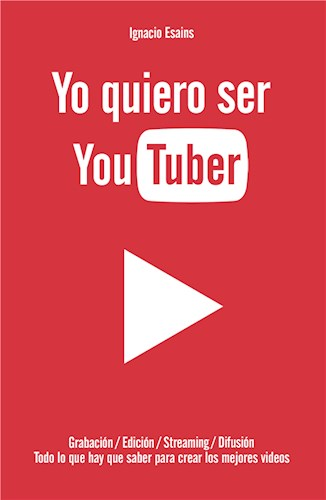 E-book Yo quiero ser YouTuber