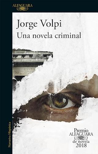 UNA NOVELA CRIMINAL (PREMIO ALFAG 2018)