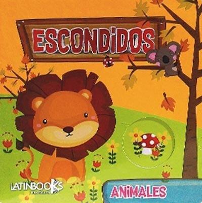 ESCONDIDOS ANIMALES NARANJA