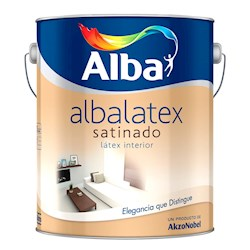 ALBALATEX SATINADO X 4 LTS.