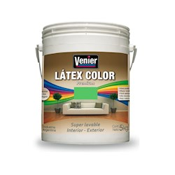 VENIER LATEX INTERIOR-EXTERIOR  X 25 KG