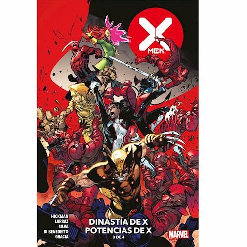 X-MEN 03 DINASTIA DE X POTENCIAS DE X (3 DE 4)