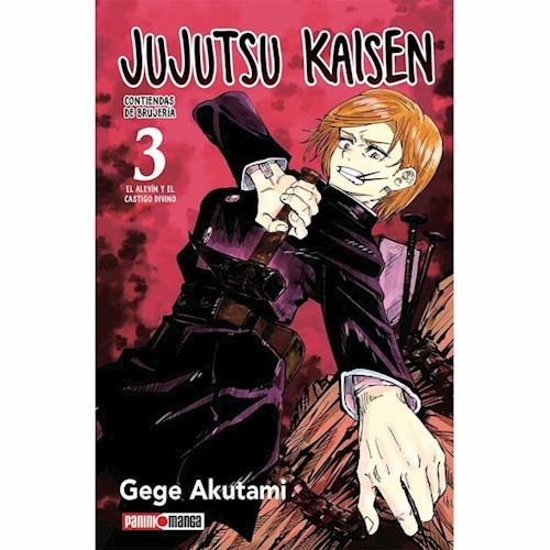 JUJUTSU KAISEN 03 PREVENTA DISPONIBLE EN AGOSTO