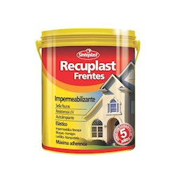 RECUPLAST FRENTES BASE BLANCO X 4LTS